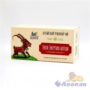 Чай алтайский травяной  Твоя энергия Алтая , в пирамидках 40гр ALTAIVITA