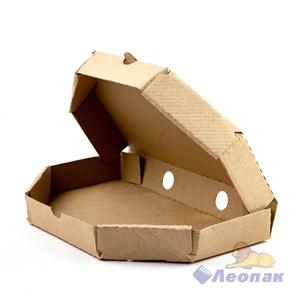 Коробка под хачапури 270*170*40мм Т11 микрогофра, серая (50шт/1уп) МК