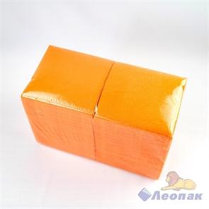 Салфетка оранжевая ЭКО (400шт/12уп) 24х24см  арт.А3151702-2
