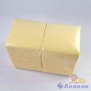 Салфетка лимонная-пастель ЭКО (400шт/12уп) 24х24см  арт.151602