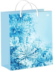 Пакет мягкий пластик 26х24-140мкм  Морозная свежесть  (40) /ТИКО
