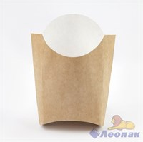 Коробка для картофеля  Фри  КРАФТ большая  34х90х120 (500шт) / 31836.02