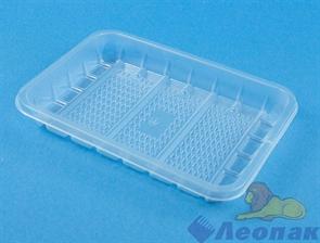 Лоток прямоугольный 500гр прозрачный (100шт/2000шт) / Упакс-Юнити