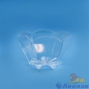 Чашка  Тюльпан  65мм-70мл PS прозрачная (25шт/1уп/20уп) /Покровский полимер 5021