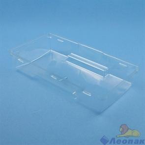 Упаковка ECO OpBox 600 (200шт/1кор)  с прозрачным куполом 200*100  h40