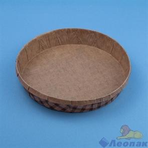 Форма для круглого пирога  Тортина  185*35мм(480шт.)