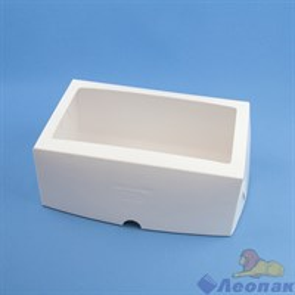 Короб картонный под 6 капкейков с ОКНОМ 250*170*100 мм (100шт/кор) Cup6(окно)