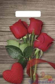 П-выр.ручка 20х30-30мкм Свежие розы (100/3000) ТИКО