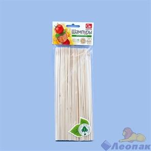 Шампур деревянный  GRIFON  20см  (100шт/1уп/60уп.) 400-101/1
