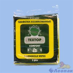 Салфетка вискозная 35*35см (3шт/100уп) COMFORT Т855