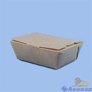 Контейнер бумажный Lunch2Go 600мл, 115х150х50, Крафт (360шт) 211946