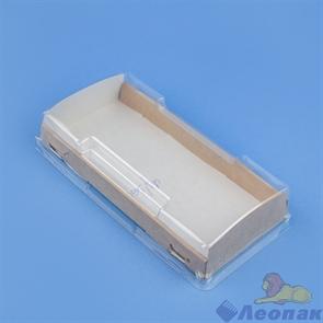 Упаковка ECO OpBox 600  с прозрачным куполом 200*100  h40 (200шт)