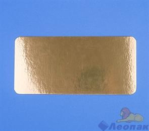 Подложка усиленная GWD 250х250мм (0,8мм) золото (100шт/уп)