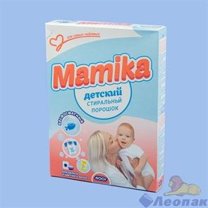 Стиральный порошок Mamika Детский 400г карт/п, 30шт/кор., арт 594