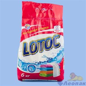 Стиральный порошок LOTOC автомат+ручная стирка 6 кг п/эт, шт, арт. FP-7/1