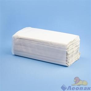 Полотенца бумажные листовые белые 1-сл. (24уп=200лист) V-сл МК  РТ