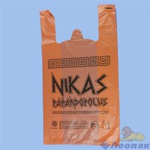 П-майка 30х55-20мкм. оранжевый  NIKAS  (100/1000) /СОЮЗ