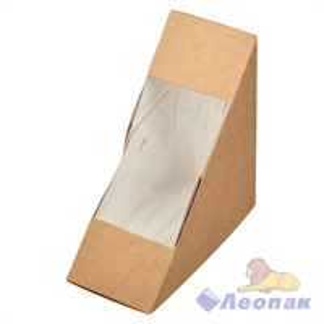 Упаковка ECO SANDWICH 60  д/сэндвичей 130*130*60(800шт)
