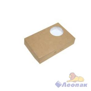 Упаковка ECO DONUTS M(150шт/1кор)  д/пончиков 185*270*55