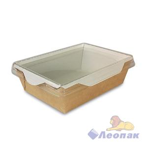 Упаковка ECO OpSalad 400 (400шт/1кор) салатник с прозр.крышкой 140*100 h45