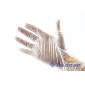 Перчатки виниловые неопудренные  L  (100шт/10упак)