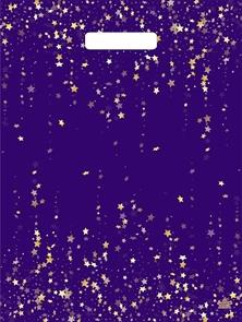 П-выр.ручка 31х40-60мкм  Фиолетовый глянец  ламинированный  (500) ТИКО