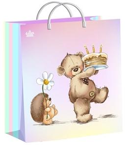 Пакет мягкий пластик с пластик.ручками 26х24   День сладостей  (40) ТИКО