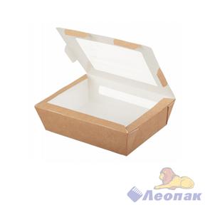 Упаковка ECO SALAD 600 (500шт/1кор)  д/салатов 150*115 h50