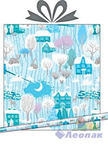 Бумага тишью  Морозный денек  0,7*10 м (1/10) Интер