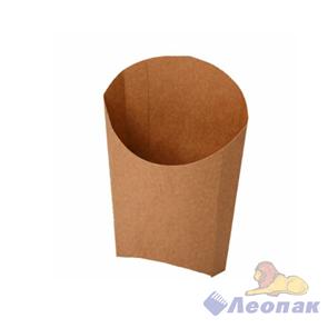 Упаковка ECO FRY M Pure Kraft  (1200шт)  для картофеля фри