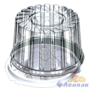 Емкость УК-279В (210шт.) прозрачная, внешние,мм 191*95, внутренние,мм 165*85
