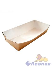 Упаковка ECO TRAY 800 (300шт)  для бургера,картофеля фри,чиабатты