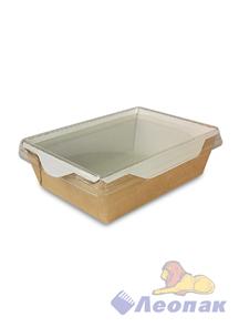 Упаковка ECO OpSalad 500 (300шт) салатник с прозр.крышкой 160*120 h45