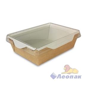 Упаковка ECO OpSalad 900  (200шт/1кор) салатник с прозр.крышкой 150*150