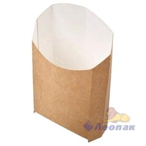 Упаковка ECO FRY M Pure Kraft  (1000шт)  для картофеля фри