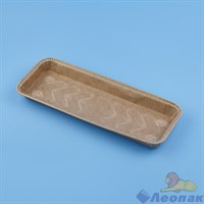 Форма прямоугольная для выпечки коричневая 272*82*22.5  (200шт/6уп.)8027222В