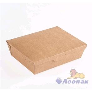 Упаковка ECO LUNCH 1000 (200шт)  ланч-бокс 190*150*50