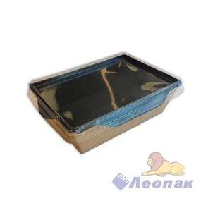 Упаковка ECO OpSalad 400 Black Edition (400 шт/кор) салатник с прозр.крышкой