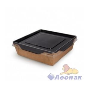 Упаковка ECO OpSalad 900 Black Edition (200 шт/кор) салатник с прозр.крышкой