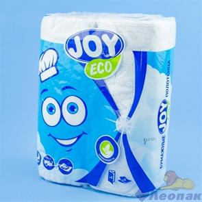 Бумажные полотенца JOYeco 2сл., белые(2шт/12уп)