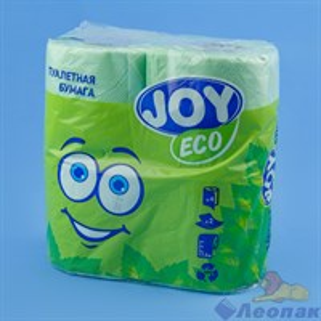 Туалетная бумага JOYeco 2сл.,  зеленая (4шт/12уп)