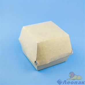 Упаковка ECO BURGER M  (300шт/1кор)  д/бургеров 115x115x60