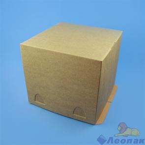 Короб картонный белый 240х240х220мм (50 шт/кор. )