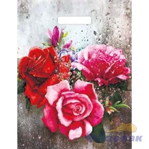 """П-выр.ручка 31х40-60мкм """"Три розы на окне"""" ламинат (500) ТИКО"""