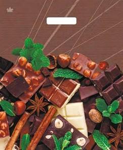 """П-выр.ручка 38х45-60мкм """"Шоколадное настроение""""  (500) ТИКО"""
