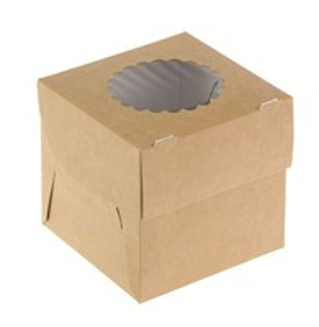 Упаковка ECO MUF 1 (250шт/1кор)  д/маффинов