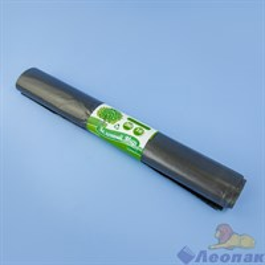Мешок мусорный 240л38мкм (10шт/20рул) черный  Зелёный Мир
