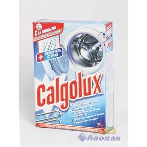 CALGOLUX  Cр-ва для проф. накипи стир. машин+усилитель стирки  300г.(32шт) (карт/п)/ НЗБХ  615