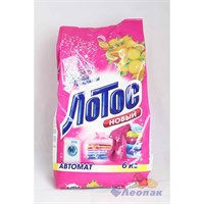 Порошок стиральный  ЛОТОС новый   Автомат 6.0кг (3шт) /НЗБХ  135:346 П