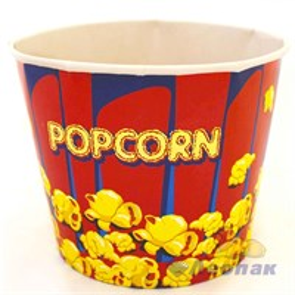 Стакан бумажный  Popcorn  V 64 2л  (50/6уп)